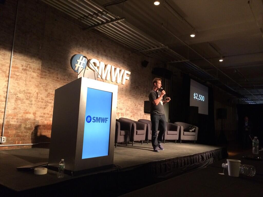 ryan shell at smwf conference 2014